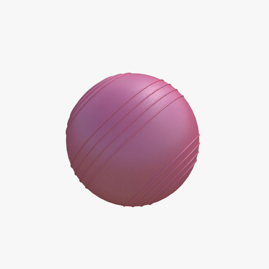 Bola de ginástica royalty-free 3d model - Preview no. 3