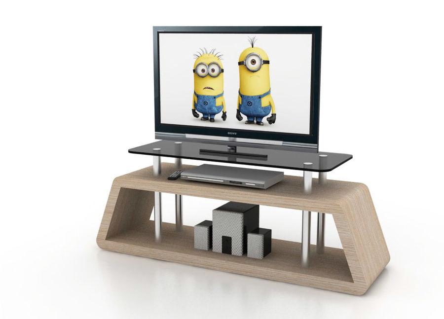 mueble de diseño minimalista royalty-free modelo 3d - Preview no. 1