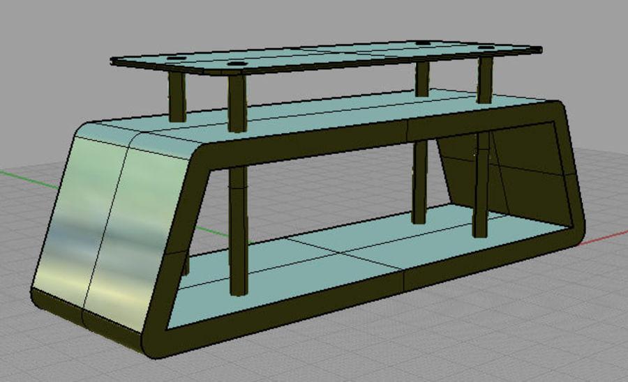 mueble de diseño minimalista royalty-free modelo 3d - Preview no. 4