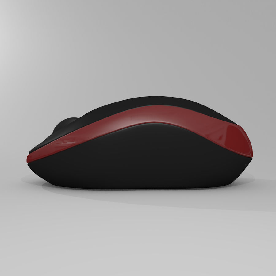 Wireless Computer Mouse royalty-free 3d model - Preview no. 2