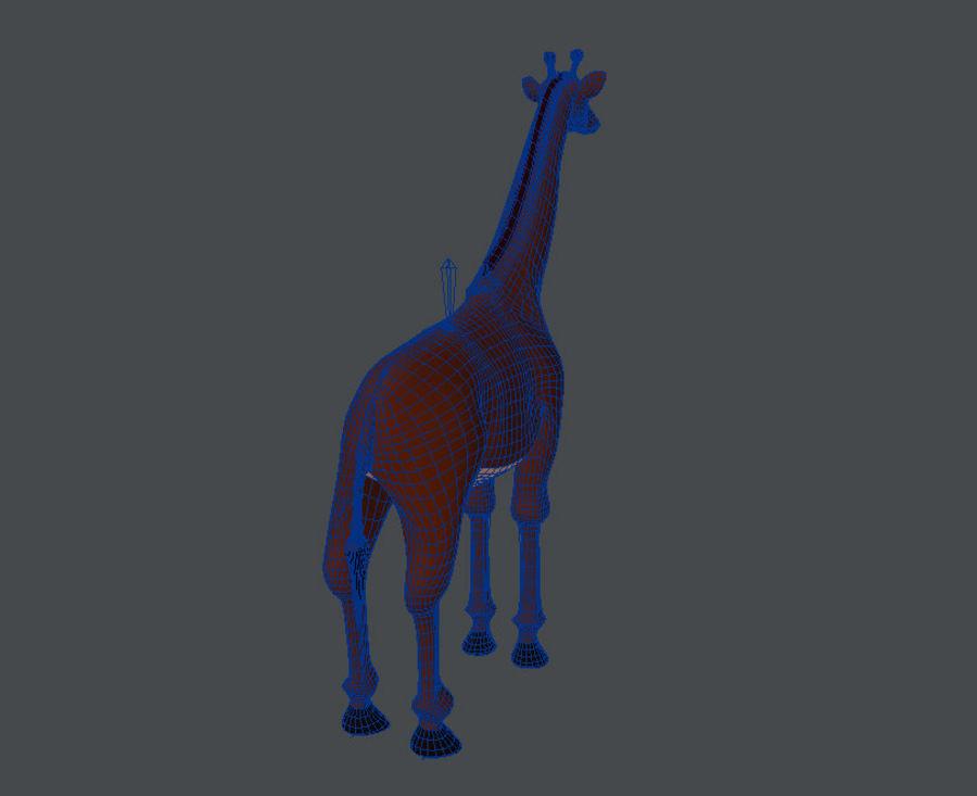 长颈鹿 royalty-free 3d model - Preview no. 6
