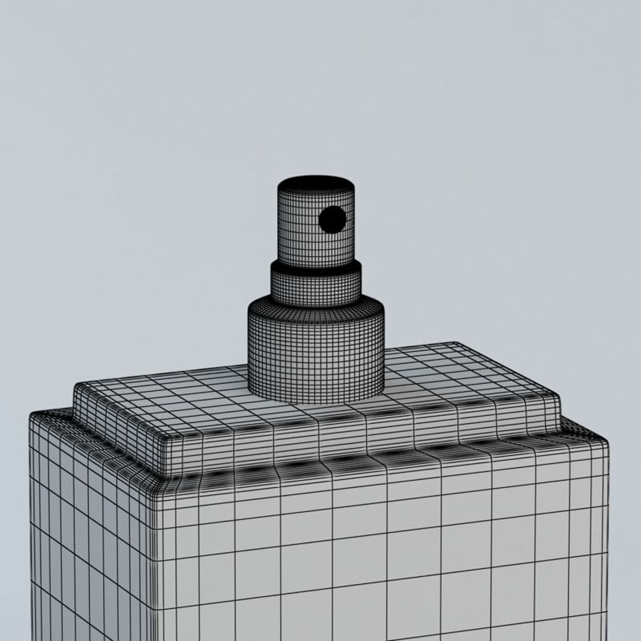 Perfume Dior Homme Sport royalty-free 3d model - Preview no. 11
