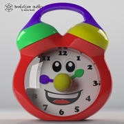 おもちゃの時計 3d model