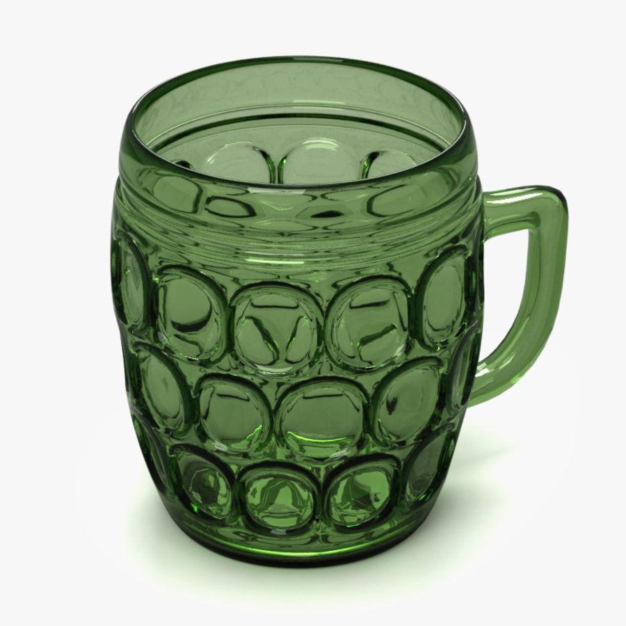 Beer mug royalty-free 3d model - Preview no. 5