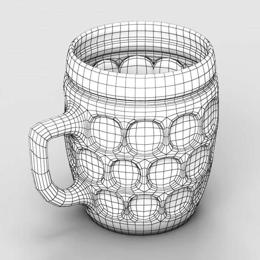 Beer mug royalty-free 3d model - Preview no. 7