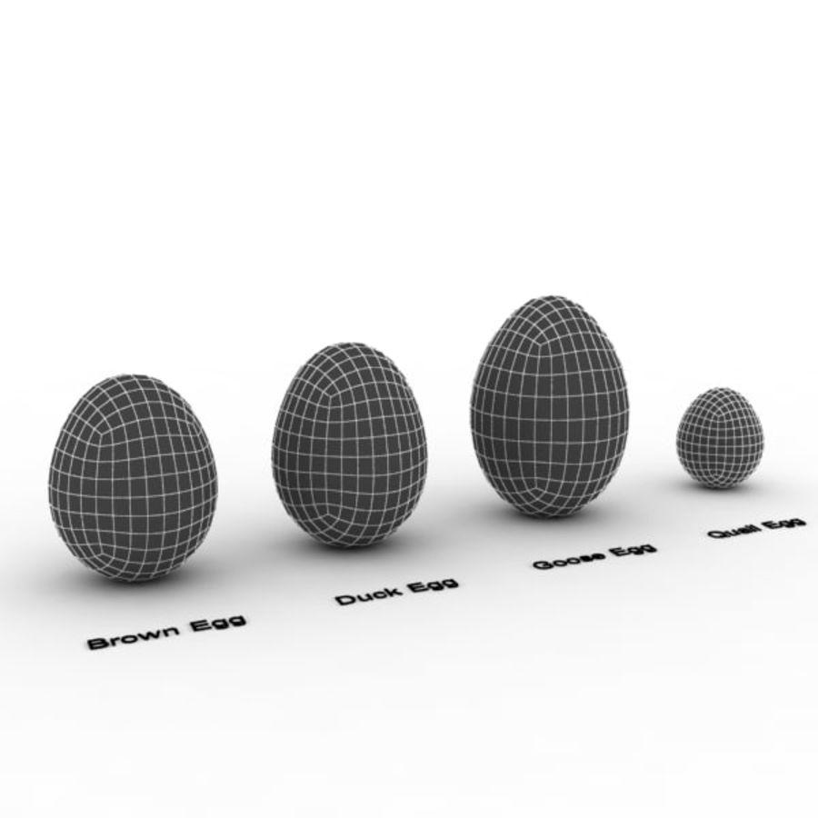 Des œufs royalty-free 3d model - Preview no. 14