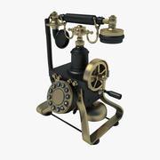 Retro telefoon 01 3d model