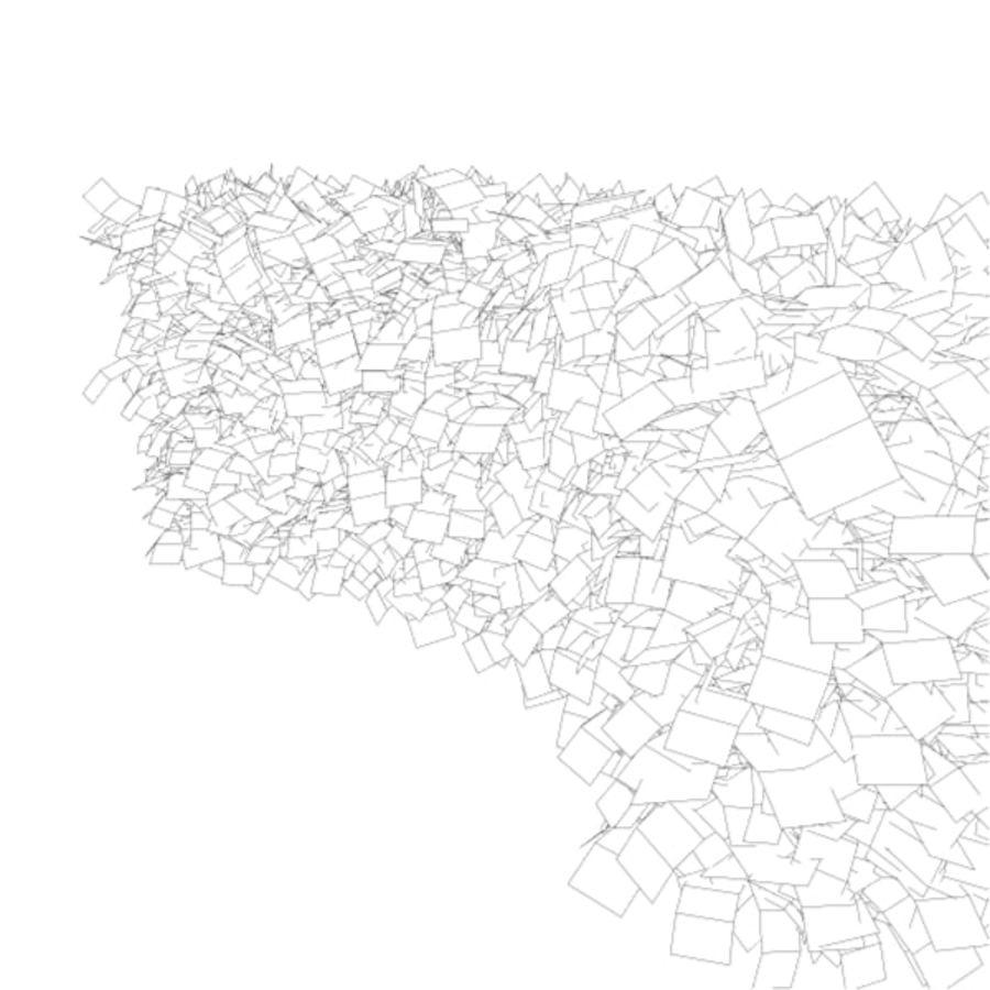 常见的山毛榉树篱曲线 royalty-free 3d model - Preview no. 7