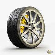 Roues Sport 3d model
