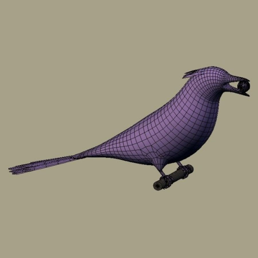 AB Blue Jay SA royalty-free 3d model - Preview no. 5