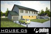 Family House 05 3d model