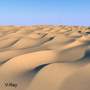 3d model van woestijnduinen 3d model