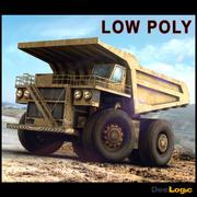비포장 도로 용 트럭 3d model