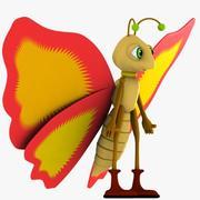 Charakter motyla 3d model