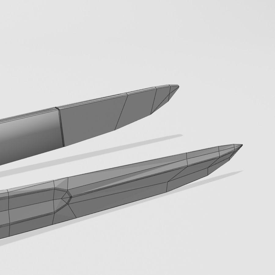 Saber royalty-free 3d model - Preview no. 9
