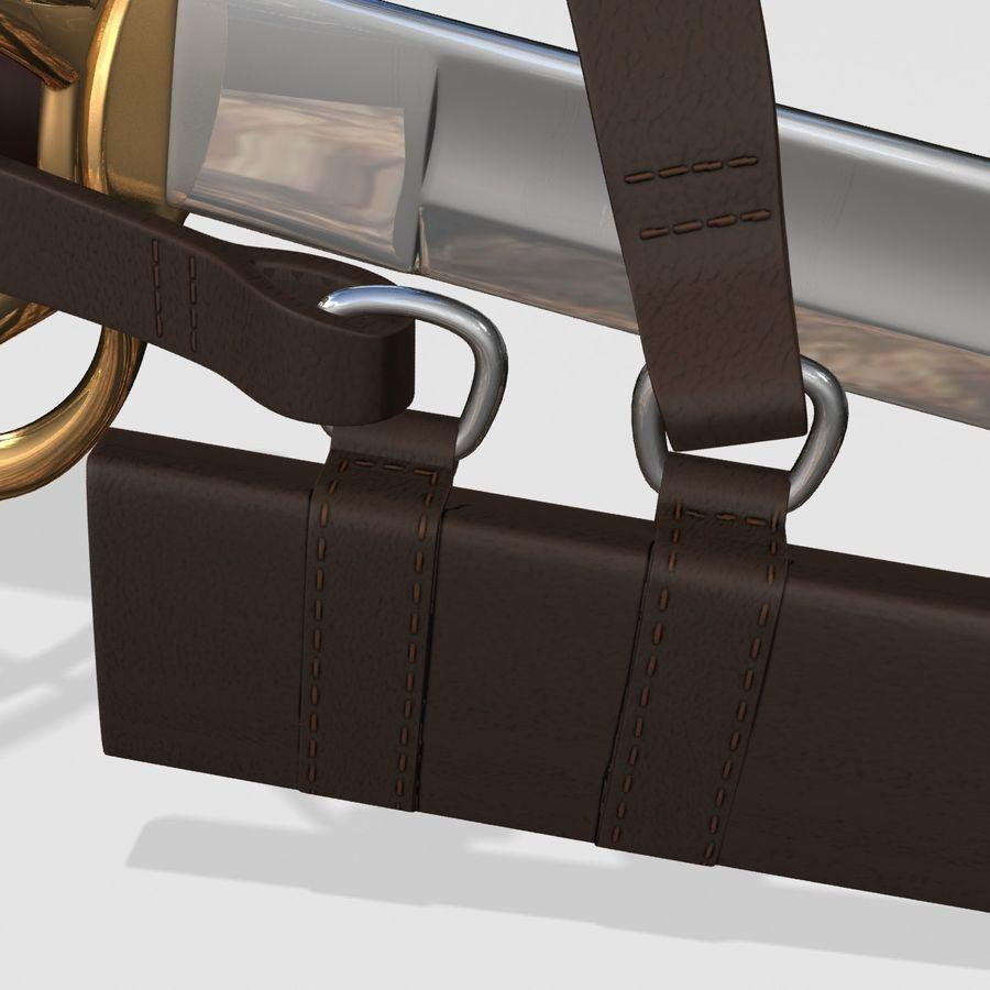 Saber royalty-free 3d model - Preview no. 10