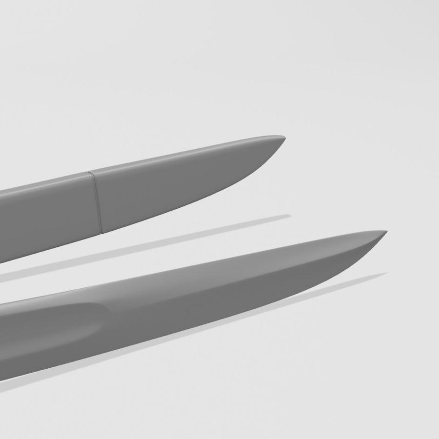 Saber royalty-free 3d model - Preview no. 8