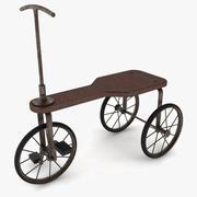 Vintage Tricycle 3d model