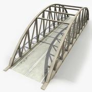 Concrete Bridge 5 3d model