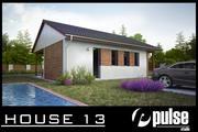 Family House 13 3d model