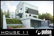 Family House 11 3d model