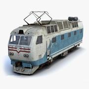 Locomotora 01 modelo 3d