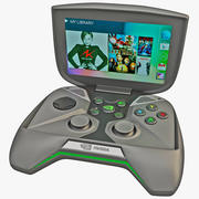 Portable Handheld PC NVIDIA Project Shield 3d model