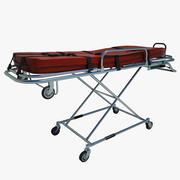救急車ベッド01 3d model