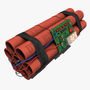 시간 폭탄 TNT 3d model
