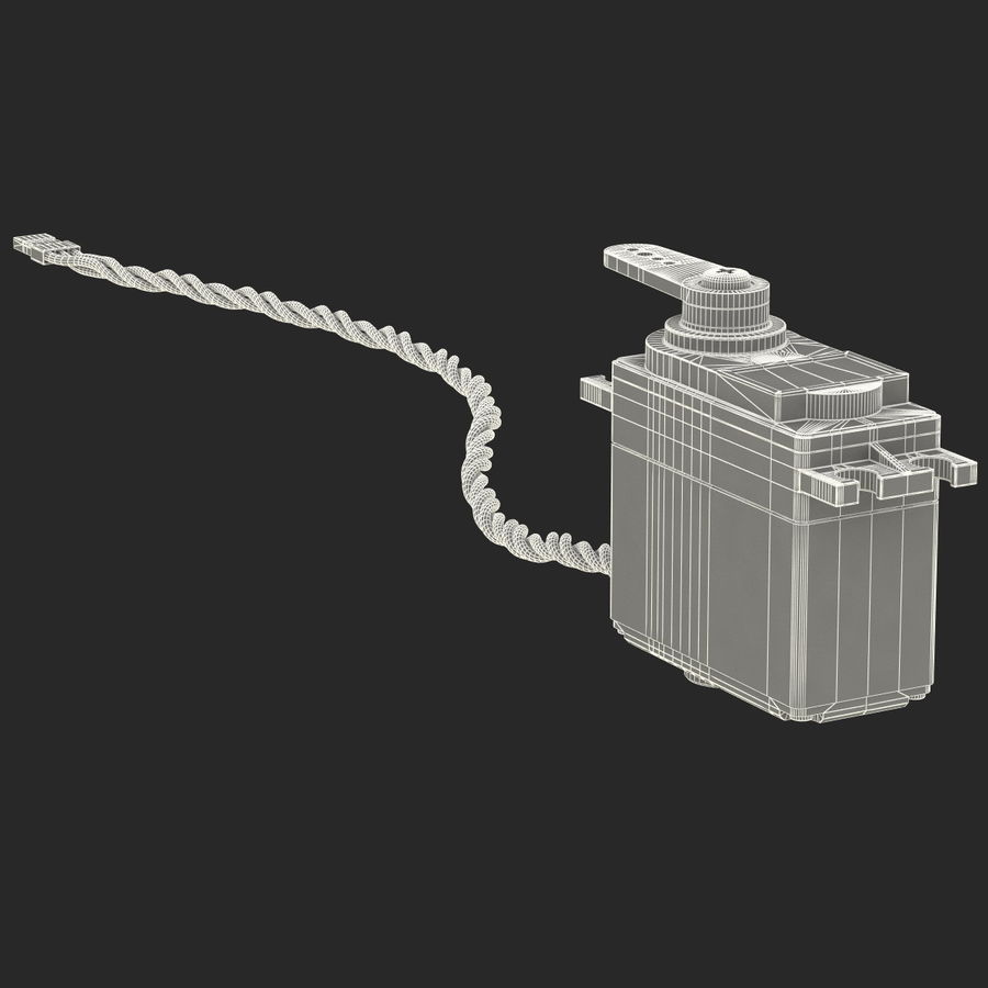 Servo Motor royalty-free 3d model - Preview no. 18