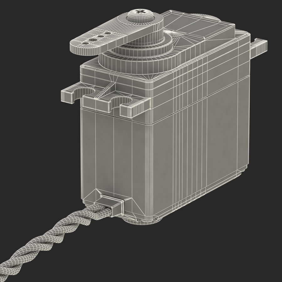 Servo Motor royalty-free 3d model - Preview no. 20
