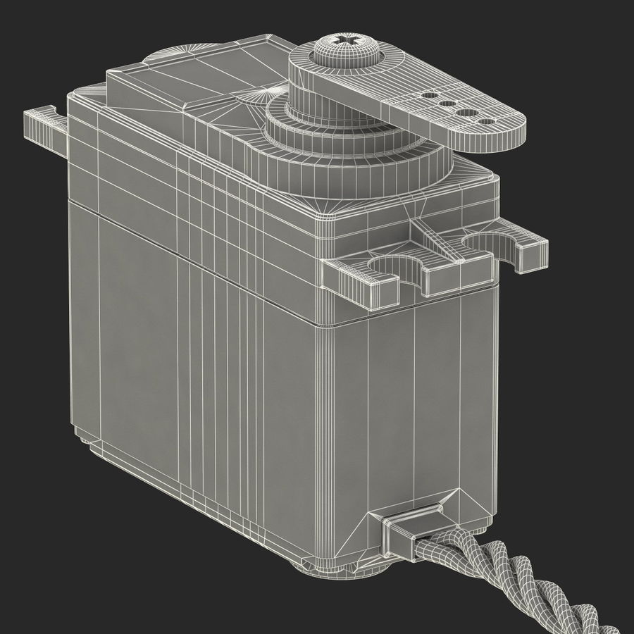 Servo Motor royalty-free 3d model - Preview no. 21