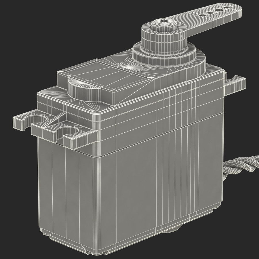 Servo Motor royalty-free 3d model - Preview no. 24
