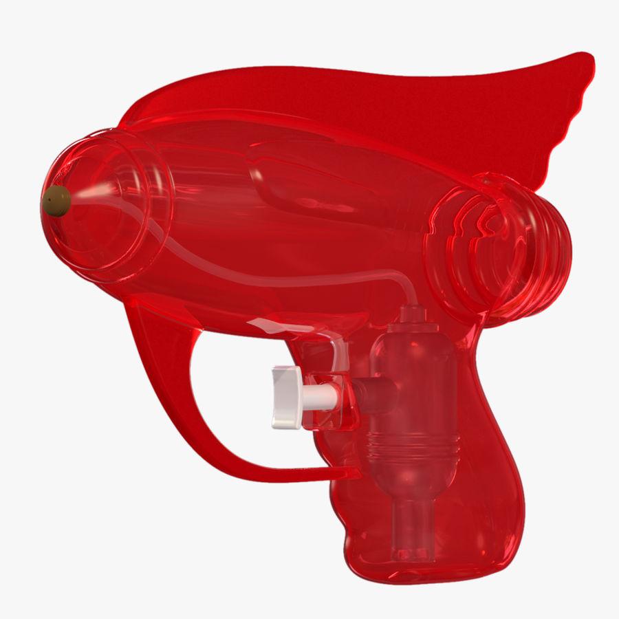 Retro vattenpistol royalty-free 3d model - Preview no. 5