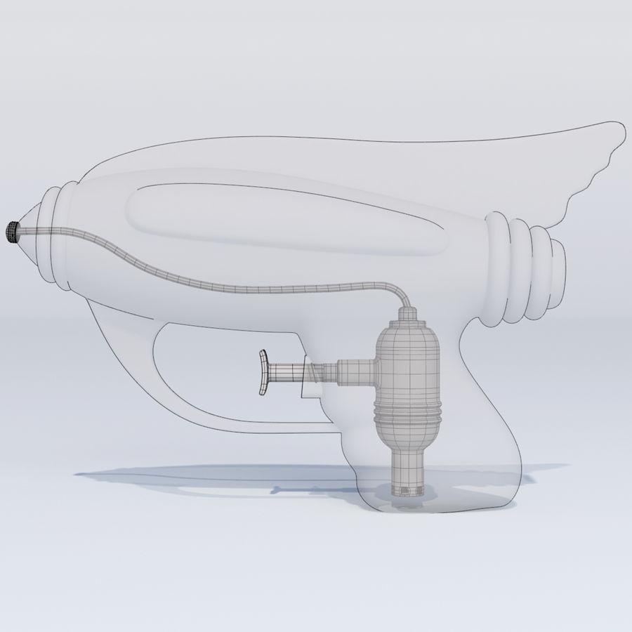 Retro vattenpistol royalty-free 3d model - Preview no. 10