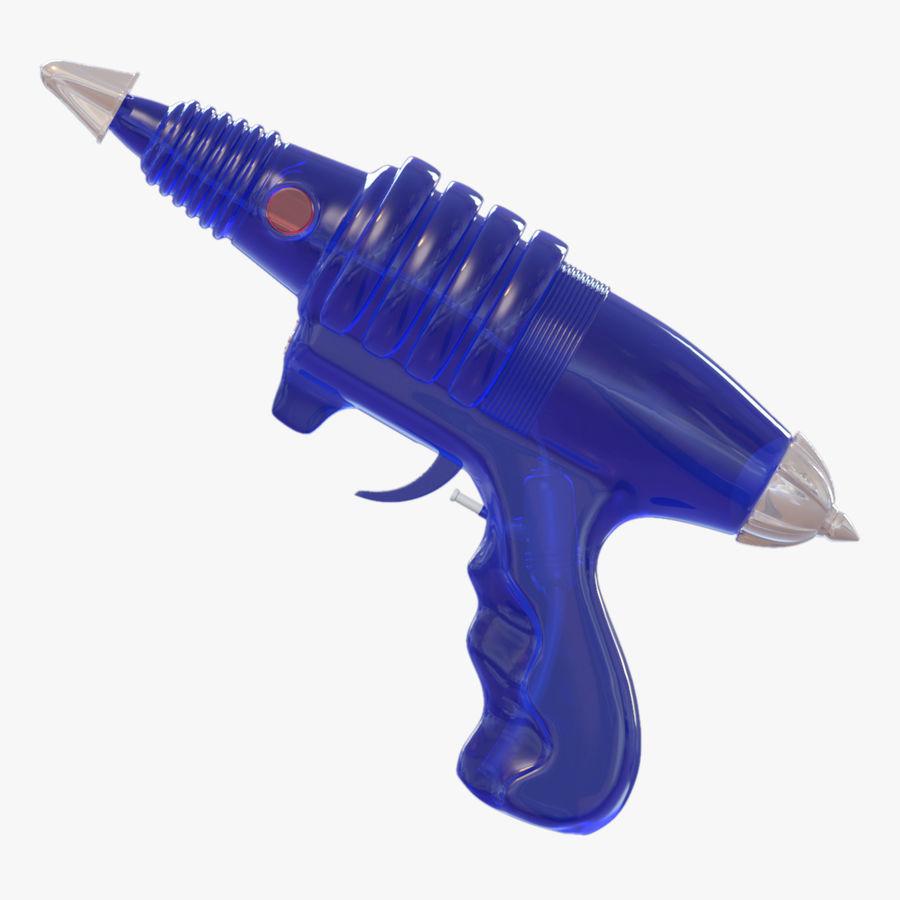 Retro Space Water Gun royalty-free 3d model - Preview no. 1