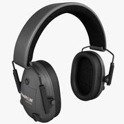 Muffs de ouvido eletrônico 3d model