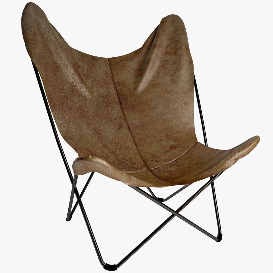 Krzesło motyla royalty-free 3d model - Preview no. 1