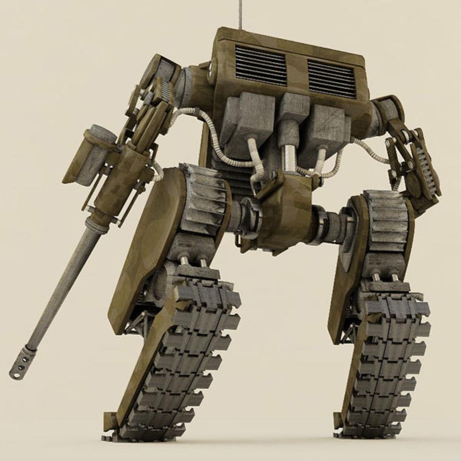 Battle Mech(1) royalty-free 3d model - Preview no. 14