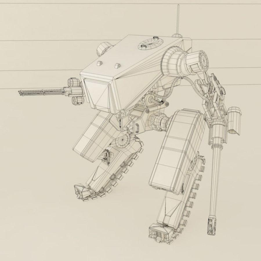 Battle Mech(1) royalty-free 3d model - Preview no. 3