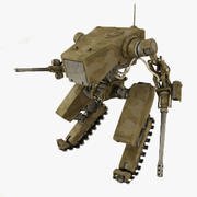 Battle Mech(1) 3d model