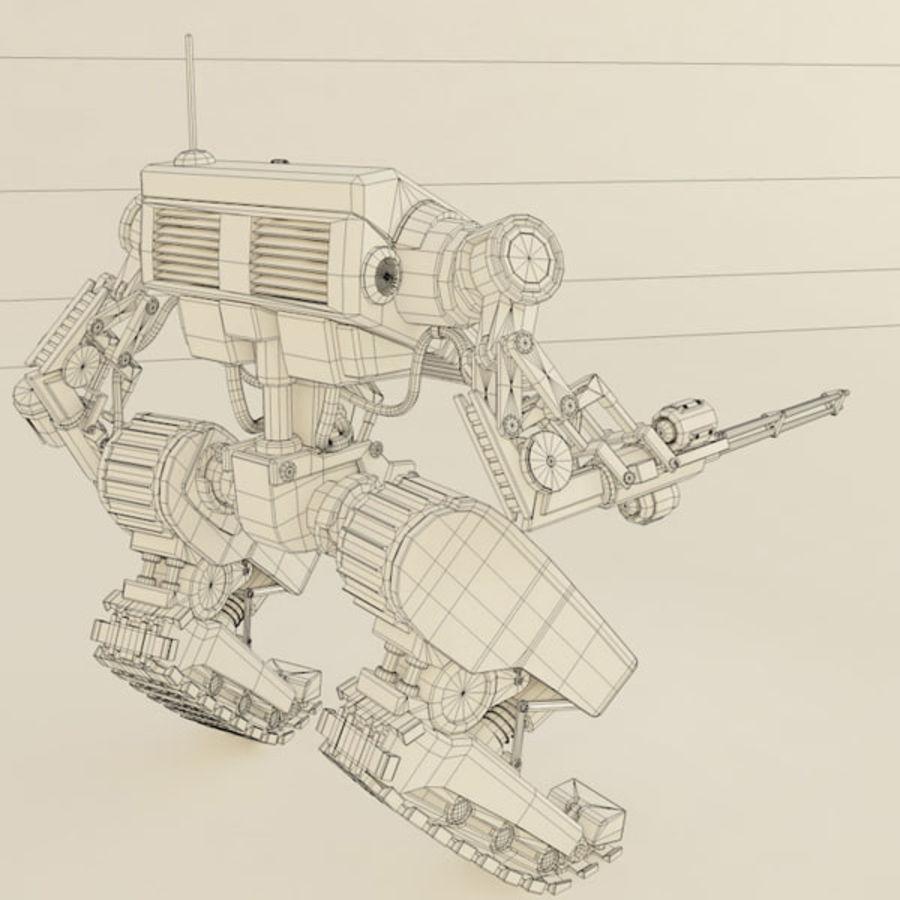 Battle Mech(1) royalty-free 3d model - Preview no. 11