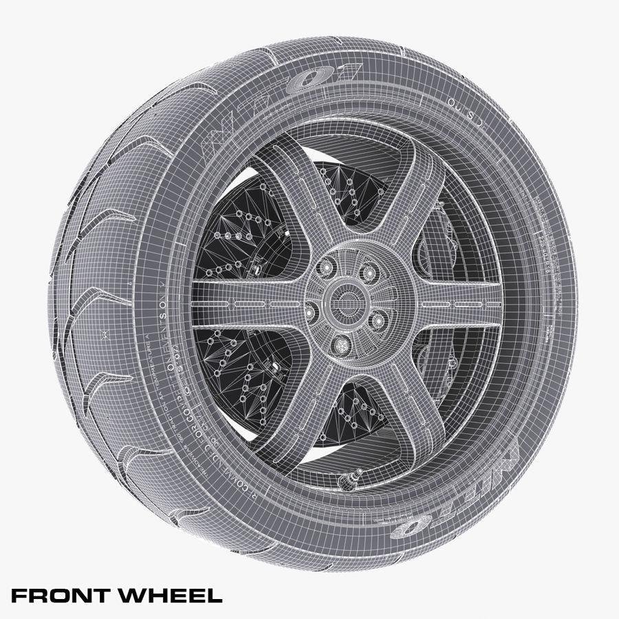 Nissan Egoist royalty-free 3d model - Preview no. 12