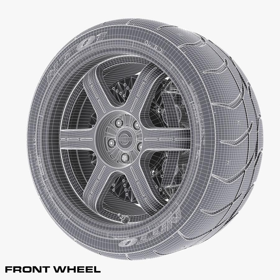 Nissan Egoist royalty-free 3d model - Preview no. 14