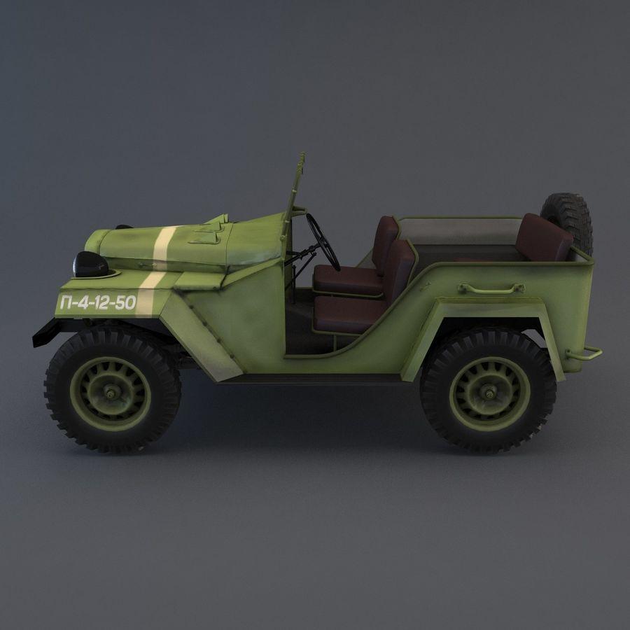 Gaz 67 royalty-free 3d model - Preview no. 5
