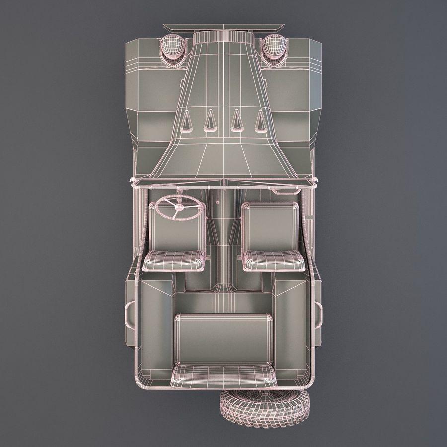 Gaz 67 royalty-free 3d model - Preview no. 8