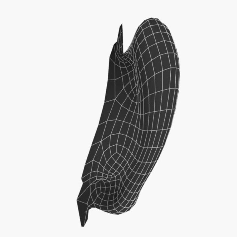 耳朵V3 royalty-free 3d model - Preview no. 7