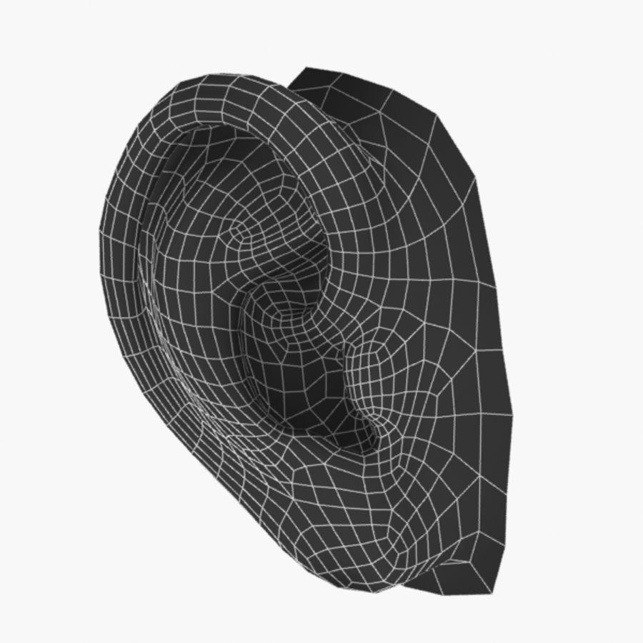 耳朵V3 royalty-free 3d model - Preview no. 5