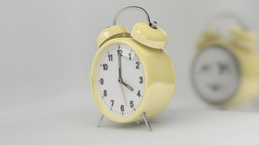 Clock royalty-free 3d model - Preview no. 1