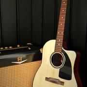 Gitara akustyczna 3d model